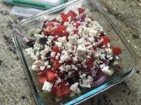 BeGreek Salad Cucumbersfore