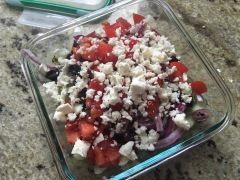 BeGreek Salad Cucumbersfore