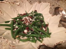 Green Bean Salad with Spiced Pecans