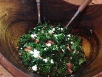Charred Kale Salad
