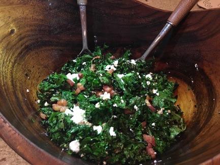Charred Kale Salad