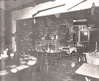 Interior view of Aunt Fanny's Cabin