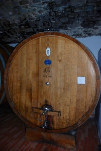Oak barrel for aging the Chianti wines