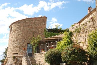 Terrace at Osteria La Porta