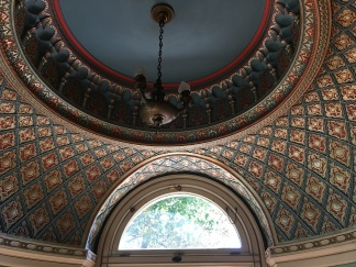 Turkish dome in the smoking parlor