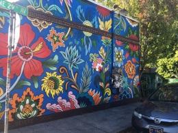 Street art in Alberta distric