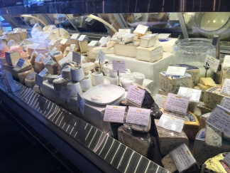 Cheese selection at Providore Fine Foods
